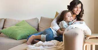 Keep your home comfortable all year with a heat pump from Armstrong Air or Concord!
